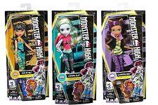 Monster High Signature Look Reboot Dolls LAGOONA BLUE CLEO DE NILE CLAWDEEN WOLF