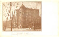 Washington DC Bancorft Hotel c1910 Postcard