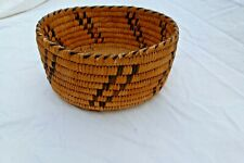 Vintage Papago Woven Basket 6-7/8 inches wide x 3-1/4 inches High