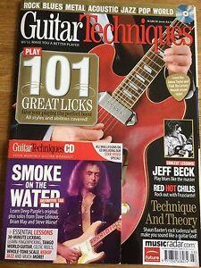 Guitar Techniques magazine & CD: March 2010