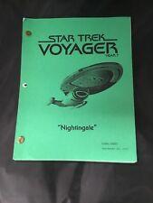Star Trek Voyager Nightingale Final Draft Script