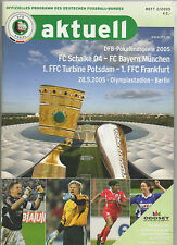 Orig.PRG    DFB Pokal  2004/05  FINALE   FC SCHALKE 04 - BAYERN MÜNCHEN  !!  TOP