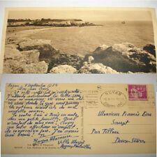 Carte Postale Tristan Lamoureux pseudo Jacques Mareuse à Françis Eon 1934