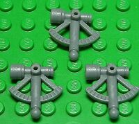 LEGO - 3 x Sextant dunkelgrau / Dark Bluish Gray Sextant / 30154 NEUWARE