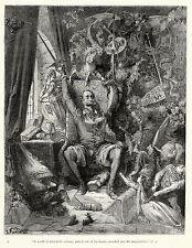 Gustave Dore Reproduction: Don Quixote - Fine Art Print