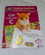 Pre-K - K A+ Reading Readiness Workbook with Reward Stickers