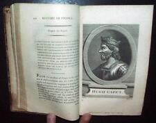 History of France to 1790, 3V, Rare, Copperplates