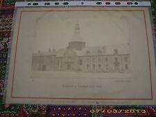 Photographie Originale  Collège de Rimbaud en 1873     rarissime