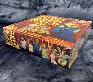 High School Musical Get Cha Head In The Game Board Game and CD Sealed NEW