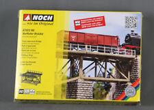 NOCH 67023 [H0, Bausatz, Lasercut] - Vorfluter-Brücke - NEUWARE!