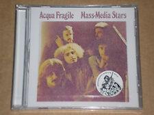 ACQUA FRAGILE - MASS MEDIA STARS - CD SIGILLATO (SEALED)