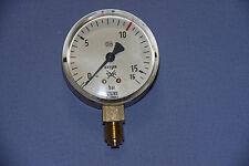 """Manometer Wika Sauerstoff Oxygen 0-16bar 1/4"""" Druckminderer"""