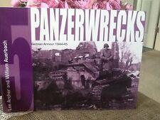 PANZERWRECKS 5 German Armour 1944-45 by William Auerbach BUY AMERICAN
