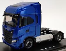 Eligor 1/43 Scale Diecast 116668 - Iveco Tractuer S Way Up - Blue