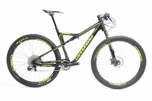 "USED 2017 Cannondale Scalpel-Si Carbon 2 Lefty FS Mountain Bike Large 29"" 1x11"
