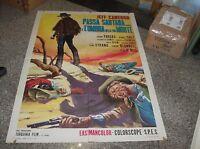 Arches Sartana And 'L' Shadow Of Your Morte Manifesto 2F Original 1969
