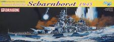 Dragon 1/350 German Battleship Scharnhorst 1943 Kit #1040