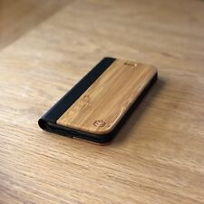Apple iPhone 7 Bamboo Wood & Leather Folio Case/ Cover | OXSY