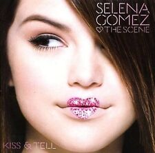Selena Gomez & The Scene  Kiss & Tell - (2009, CD New sealed)