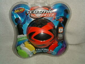 NERF Cosmic Catch The Talking Ball Electronic Game Red Black 42790 Hasbro.