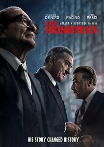 The Irishman DVD - Pacino, DeNiro, Pesci - Brand New!  Free Shipping!