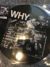 """Discharge 'Why' 12"""" Vinyl Album, RSD 2017 New Picture Disc"""