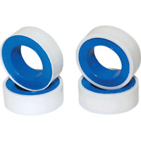 4 Rubans de Téflon Longueur 10 Métres Largeur 12 mm Epaisseur 0,075 mm Blanc