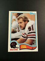 1982 Topps # 294 ROBIN EARL Chicago Bears NM-MINT+