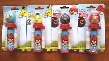 ANGRY BIRDS SET OF 4 CANDY DISPENSER NEW AND SEALED