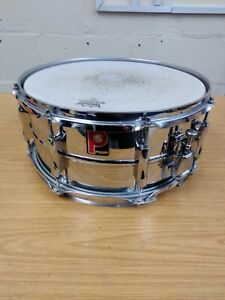 "VINTAGE PREMIER 1026 14""x 6.5"" SNARE DRUM Very Good Condition"