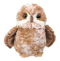 "Douglas Rusty BROWN OWL 7"" Plush Stuffed Bird Animal Cuddle Toy NEW"