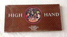 High Hand board Game-1984-Milton Bradley-Complete-Very Good Condition