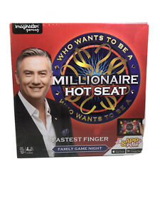 Who Wants To Be A Millionaire Hot Seat Board Game New & Sealed Free Aus Shipping