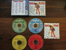 MEGA FUNK      4  CD   --- 100 CHANSONS