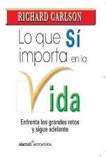 Lo que si importa en la vida  What about the Big Stuff? (Spanish Editi-ExLibrary