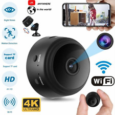 4K/1080 HD WIFI Mini IP Camera Baby Pet Monitor Home Security Spy Hidden Cam