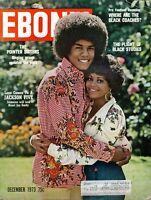 EBONY MAGAZINE-DEC 1973-JACKSON 5 JERMAINE JACKSON-POINTER SISTERS-BLACK STUDIES