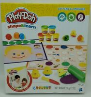 Play-Doh Shape & Learn Letters and Language Ages 2+ New in Box