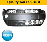 2012-2014 Citroen C1 Front Bumper Grille Lower Centre Black High Quality New