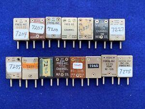 40 METER HAM RADIO PHONE FT-243 CRYSTALS Boatanchor Transmitters