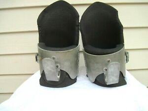 Vintage Heavy Duty Anti Gravity Boots Inversion Decompression Hang Up Boots