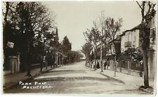 BRENTFORD HOUNSLOW MIDDX. PARK ROAD. REAL PHOTOGRAPHIC (RP) POSTCARD