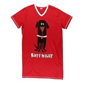 LazyOne Women's Ruff Night Nightshirt 1Size4All