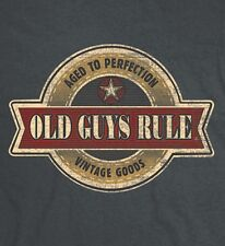 "Old Guys Rule "" Vintage Star "" "" Aged To Perfection "" "" Vintage Goods "" S/S M"