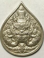 PHRA RAHU LP MHOON RARE OLD THAI BUDDHA AMULET PENDANT MAGIC ANCIENT IDOL#42