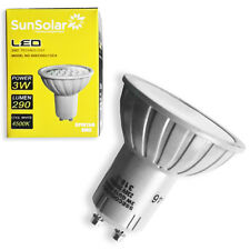 6x 3w Led Gu10 Smd Alta Potencia Spot Luz Bulbo ahorro de energía día Nevera Blanca 4500k