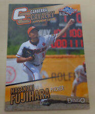 MASANORI FUJIHARA 2014 Aussie Baseball League - Canberra Cavalry- Hanshin Tigers