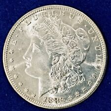 1882-S Morgan Dollar Frosty Ch BU++