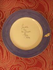 Wedgwood Signed Duchess of York Sarah's Garden Dinner Plate