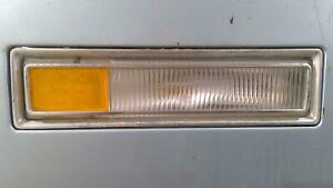 75-78 Cadillac Eldorado LH Front Fender Mounted Marker Lamp W/ Bezel (Chrome)